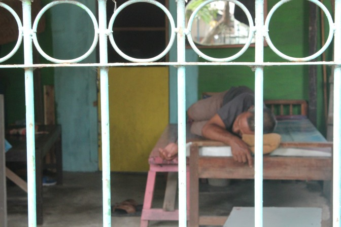Nap time in Indonesia